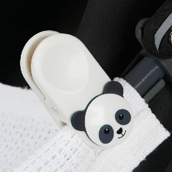 mothercare 推車毛毯固定夾-熊貓