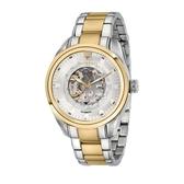MASERATI 瑪莎拉蒂 金框耀眼鏤空機械腕錶45mm(R8823112003)