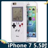 iPhone 7 Plus 5.5吋 復古遊戲機保護套 軟殼 俄羅斯方塊 坦克大戰 輕薄防摔全包款 手機套 手機殼