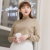 Poly Lulu 慵懶質感素色針織長版上衣-駝【91060025】