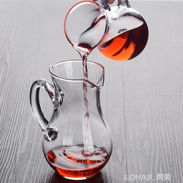 加厚玻璃白酒分酒器創意家用洋酒紅酒醒酒器小號扎壺飯店酒吧專用 樂活生活館