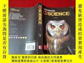 二手書博民逛書店INTEGRATED罕見iSCIENGE GLENCOE 1 COURSE 3(16開)Y233841