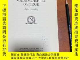 二手書博民逛書店Napoleon罕見and mademoiselle George拿破侖與喬治小姐。精裝。精美藏書票。Y272