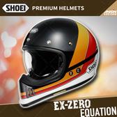 [安信騎士]日本 SHOEI EX-ZERO 彩繪 EQUATION TC-8 全罩 安全帽 越野帽