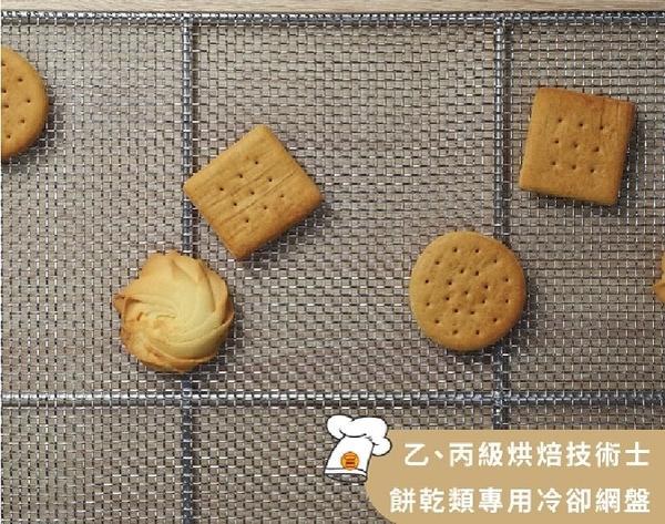【三能】沖孔烤盤 - 不銹鋼餅乾冷卻網盤(電解)