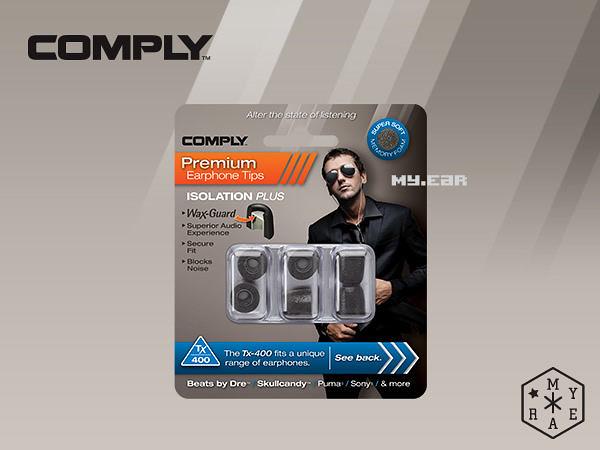 Comply TX-400 (一盒三對) UE AKG Sennheiser Pioneer[My Ear 台中耳機專賣店]