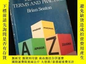 二手書博民逛書店A罕見Handbook of English Language Teaching Terms and Practi