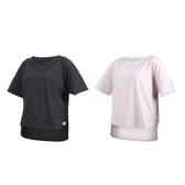 NEW BALANCE 女短袖T恤(免運 NB 短T 慢跑 路跑≡體院≡
