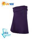 UV100 防曬 抗UV-涼感透氣彈力面罩-頭圍可調