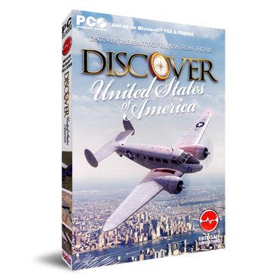 【軟體採Go網】PCGAME-模擬飛行X / 模擬飛行2004-美國探索篇 Discover USA 盒裝完整版