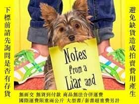 二手書博民逛書店Notes罕見from a Liar and Her Dog-說謊者和她的狗的筆記Y346464 Gennif