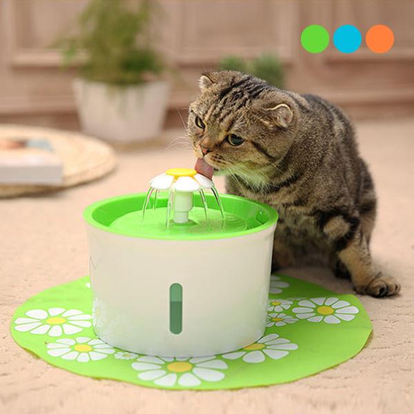 噴泉循環! 寵物飲水器 貓咪 狗狗 自動 造型 飲水器 活水機 流水機 噴泉 寵物用品 『無名』 N09112
