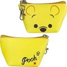 【震撼精品百貨】Winnie the Pooh 小熊維尼~三角零錢包鎖圈*08816