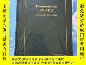 二手書博民逛書店THE罕見pharmaceutical INDEX worldw