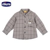 chicco 滑雪世界格紋長袖襯衫