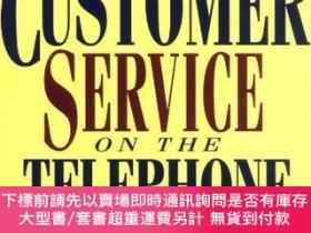 二手書博民逛書店Great罕見Customer Service on the Telephone (Worksmart Serie