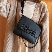 側背包ins超火軟包包女流行新款潮韓版百搭斜挎小包質感時尚小方包 中秋節全館免運