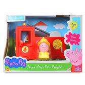 【英國Peppa Pig佩佩豬】粉紅豬小妹消防車 PE05523