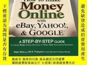 二手書博民逛書店英文原版:How罕見to Make Money Online w