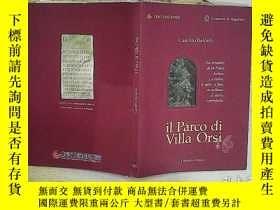 二手書博民逛書店il罕見Parco di Villa OrsiY203004