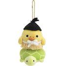 【拉拉熊浦島太郎吊飾】拉拉熊 浦島太郎 吊飾 娃娃 小雞 日本正版 該該貝比日本精品 ☆
