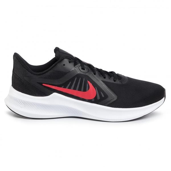 NIKE系列-DOWNSHIFTER 10 男款黑紅色透氣運動慢跑鞋-NO.CI9981006