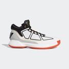ISNEAKERS ADIDAS D ROSE X 10 羅斯 飆風 玫瑰 籃球鞋 白黑灰 F36778