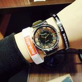 簡約鏤空立體 情侶對錶手錶W074