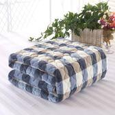 加厚榻榻米床墊冬 珊瑚絨法萊絨懶人床褥墊被薄折疊學生1.5M單人LVV7587【衣好月圓】TW