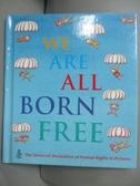 【書寶二手書T2/少年童書_KMH】We Are All Born Free: The Universal Declar