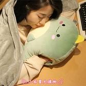 暖手抱枕 被子兩用辦公室靠墊靠枕三合一女生睡覺午睡毯子午休神器 - 小衣里大購物