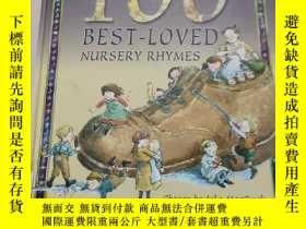 二手書博民逛書店100罕見BEST LOVED NURSERY RHYMES:100首最受喜愛的童謠Y212829