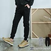 台灣製【OBIYUAN】 厚磅刷毛棉褲 縮口褲 長褲 休閒褲 共2色【SP3199】