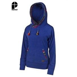 【速捷戶外】PROTEST 女都會保暖上衣 (藍色) GATTON HOODY