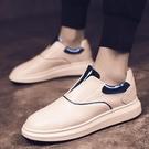 夏季新款運動休閒鞋子小白鞋男士板鞋正韓潮...