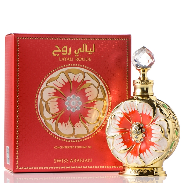 SwissArabian瑞士阿拉伯 Layali Rouge紅罌粟-鴉片 香水精油15ml