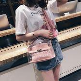 果凍包 新款韓版百搭果凍包側背包