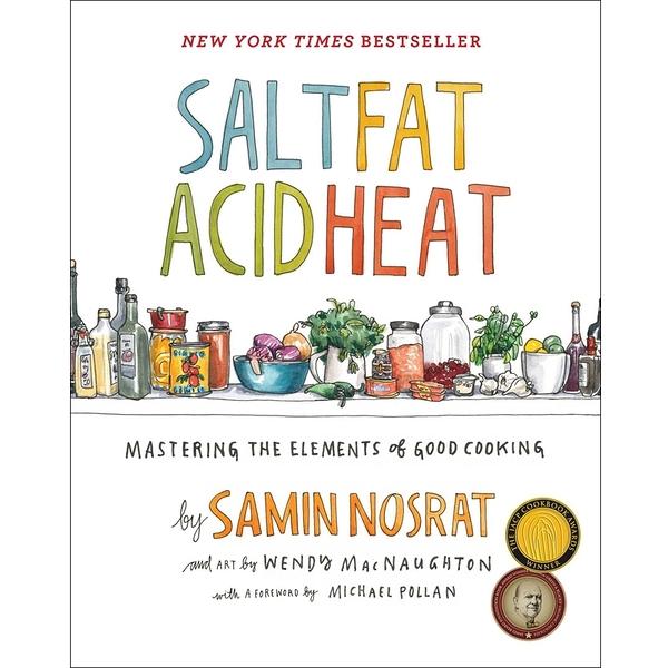 2018/2019 美國得獎作品 Salt Fat Acid Heat Mastering the Elements April 25, 2017