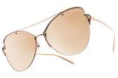 Tiffany&CO.太陽眼鏡 TF3063 6105-E0 (玫瑰金-粉水銀灰鏡片) 蝴蝶造型飛行款 墨鏡 # 金橘眼鏡