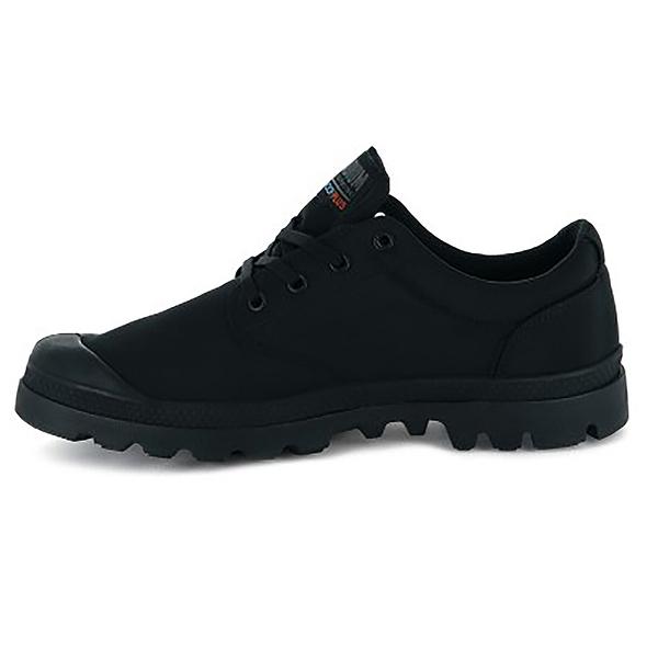 PALLADIUM PAMPA OX PUDDLE LT+ WP 黑色靴型低筒男女76116001 【FEEL 9S】