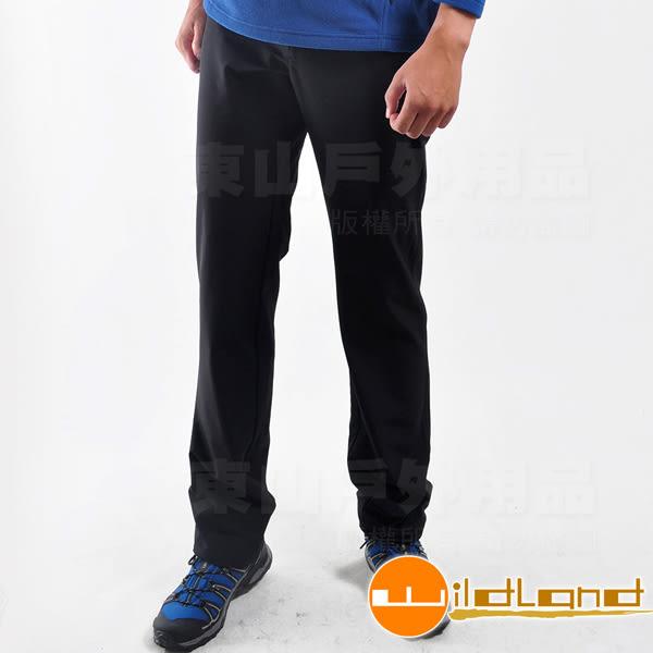 Wildland 荒野 0A12306-54黑色 男彈性保暖長褲