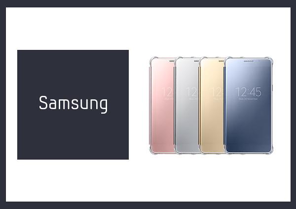 SAMSUNG GALAXY A5(2016新版) Clear View 原廠全透視感應皮套(台灣代理商-盒裝)