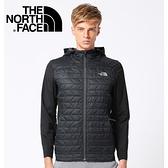 【The North Face 男款 ThermoBall 運動夾克《黑》】365GJK3/化纖外套/保暖外套/外套