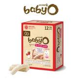 韓國 BABY O 寶貝優 草莓優格維他命C米棒(12個月)
