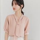 夏季雪紡襯衫女裝夏裝2021年新款潮流短袖上衣服洋氣小衫時尚氣質 【端午節特惠】