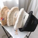 MG 羊羔絨毛 漁夫帽 護耳 保暖盆帽