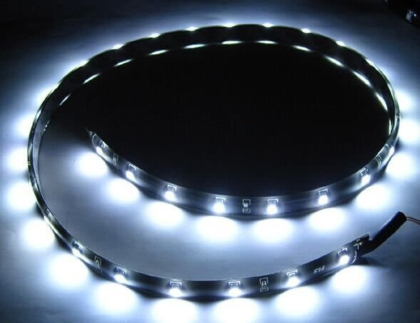 60cm 軟燈條 防水12v 5050燈條 led燈條 汽車燈條 汽車改裝 12v燈條 汽車led 車底led