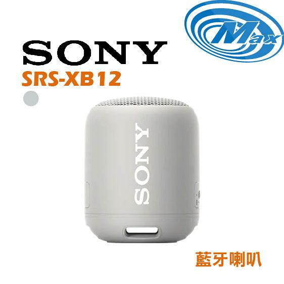 【麥士音響】SONY 索尼 SRS-XB12 | 藍牙喇叭 | XB12 5色【紅、藍、黑色有現貨】【現場實品展示中】