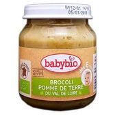 Babybio 有機綠花椰綜合蔬菜泥130公克