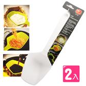 【KM  】多用途烘培料理米鏟長柄刻度量勺2 入組多色